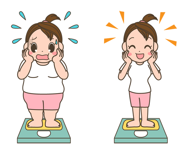 1ヶ月で5キロ痩せる方法!【女性・30代】